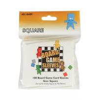 Board Game Sleeves - Square (fits cards of 69x69mm)